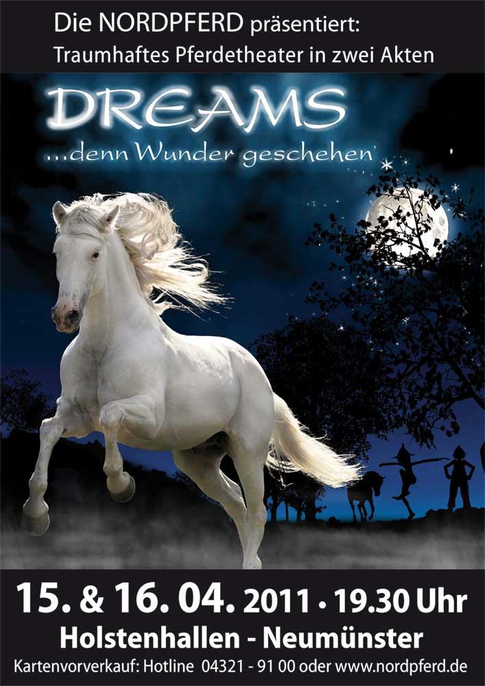 Dreams Showplakat 2011