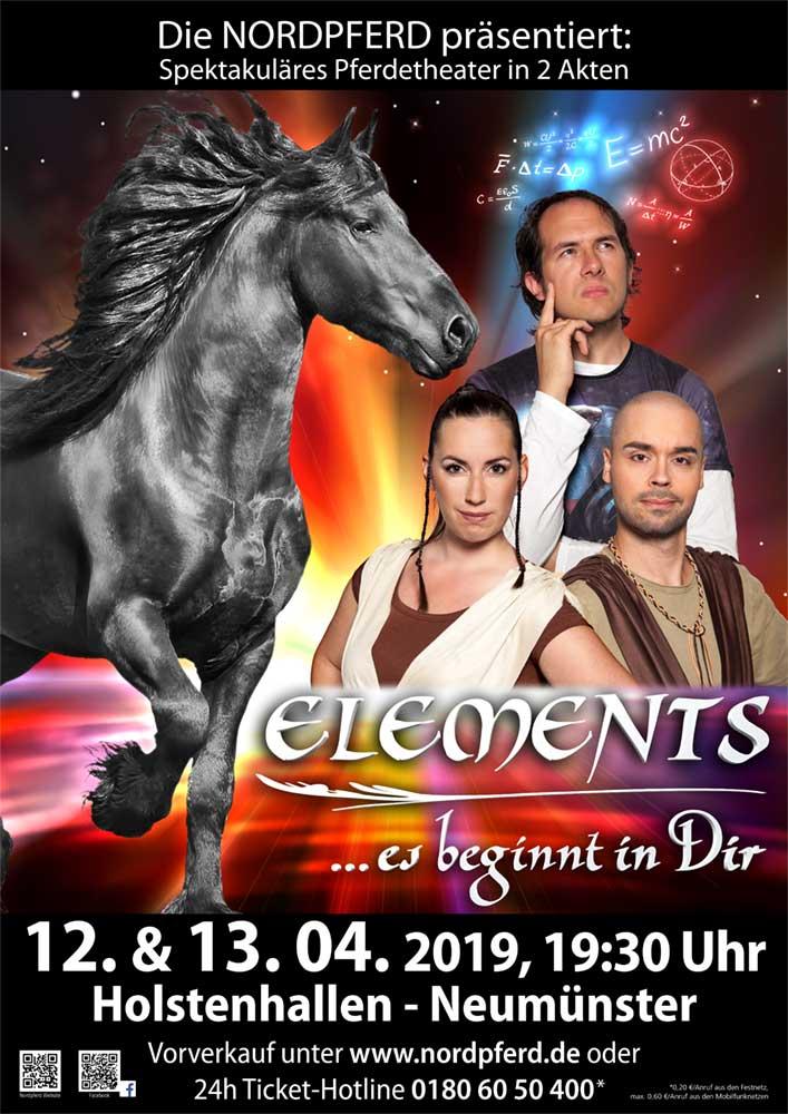 Elements Showplakat 2019